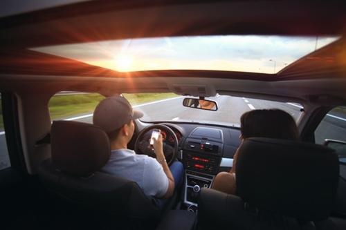 ドライブデート画像
