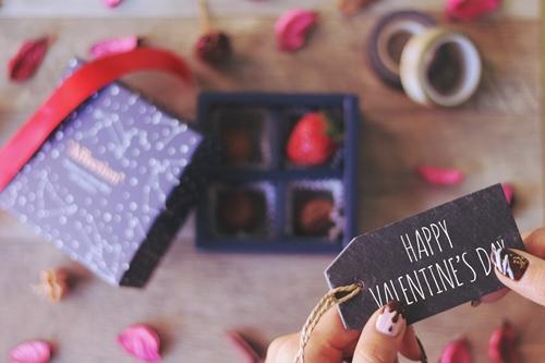 バレンタイン印象に残る渡し方