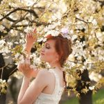 アラサー女子お花見