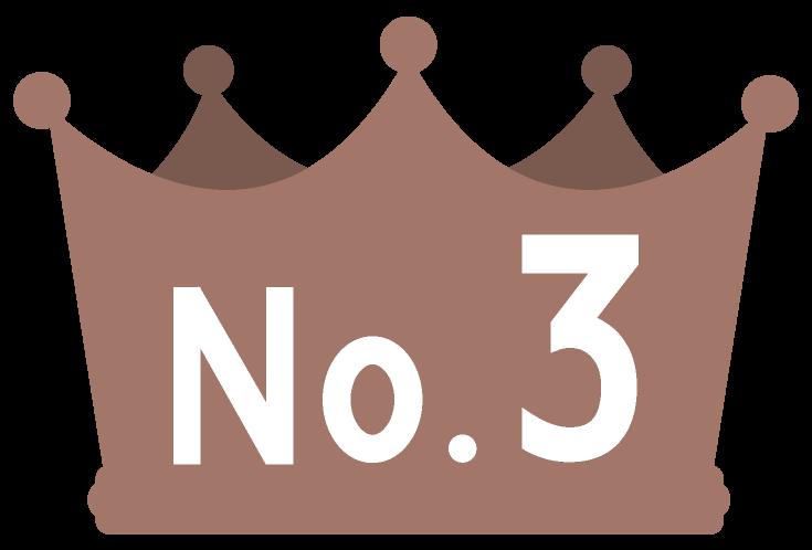 ランキング3位銅